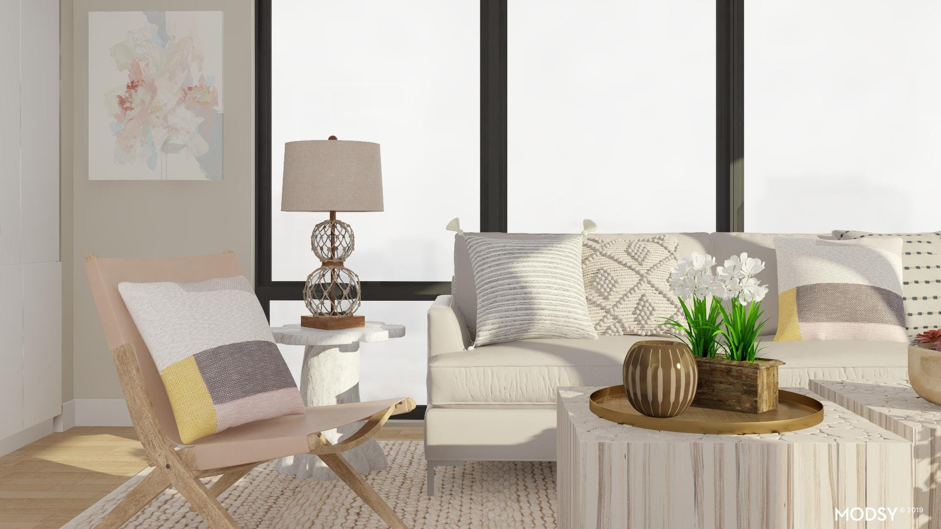 Eclectic Relaxtion: Living Room