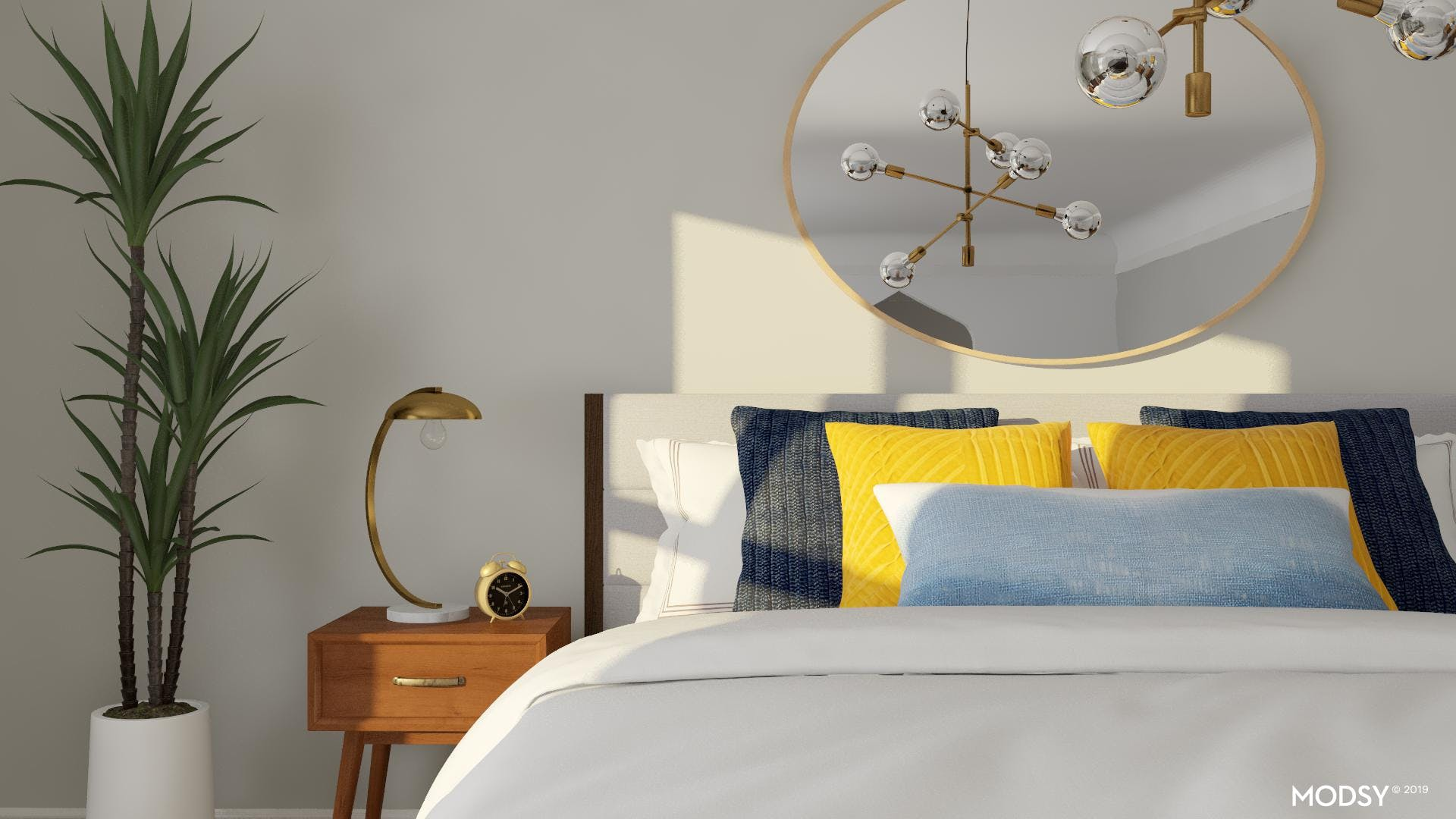 Midcentury Styled Bed