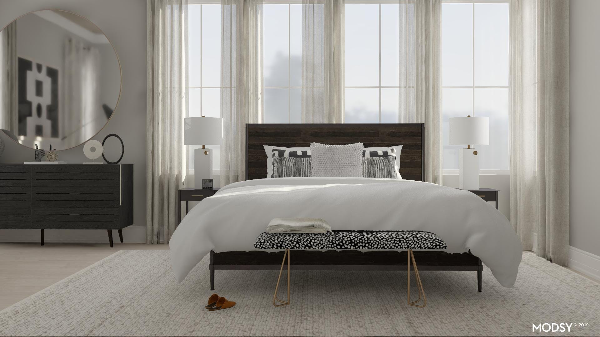 Modern Bedroom Meant For Relaxation