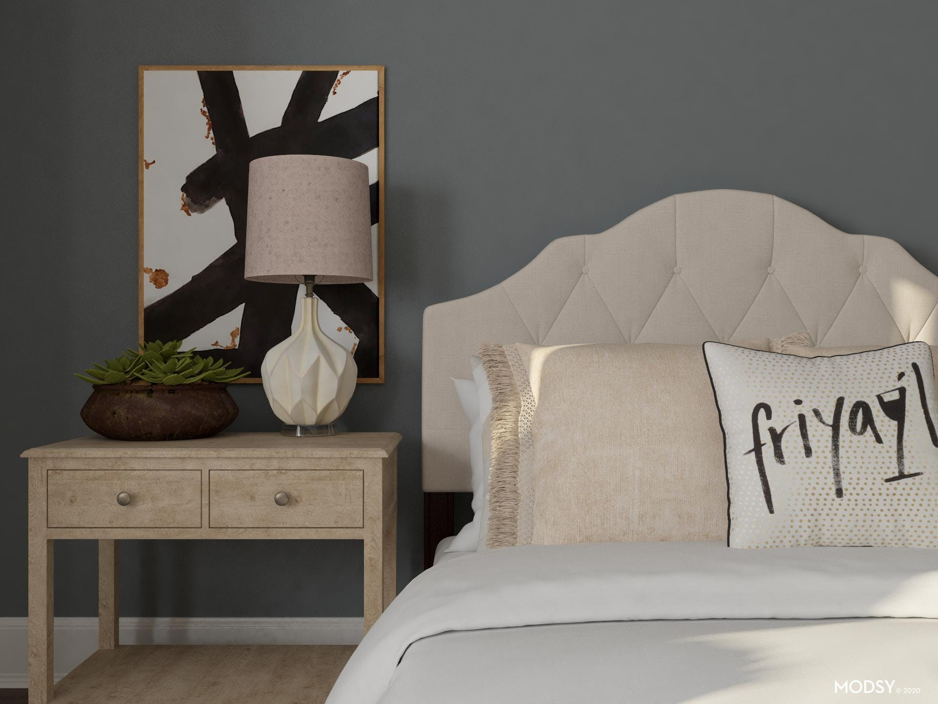 Texture Makes The Design: Glam Bedroom