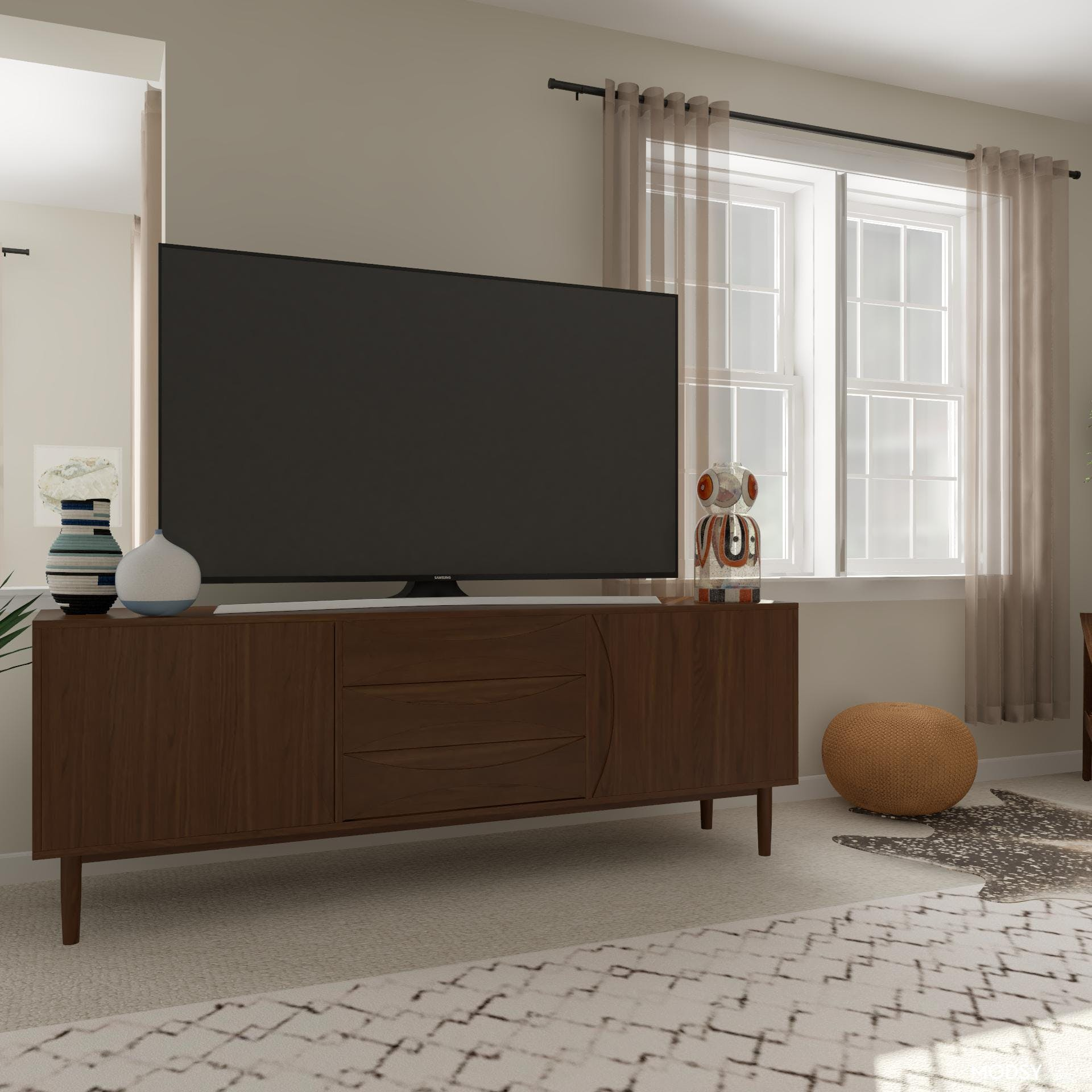 Media Console Proportions in Style