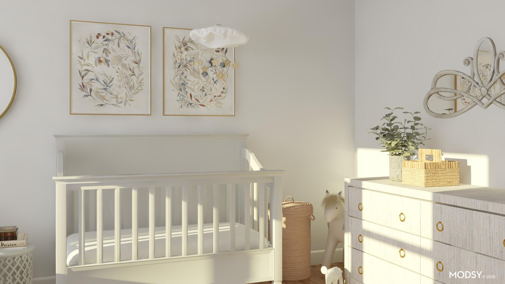 Neutral And Traditional Nursery!