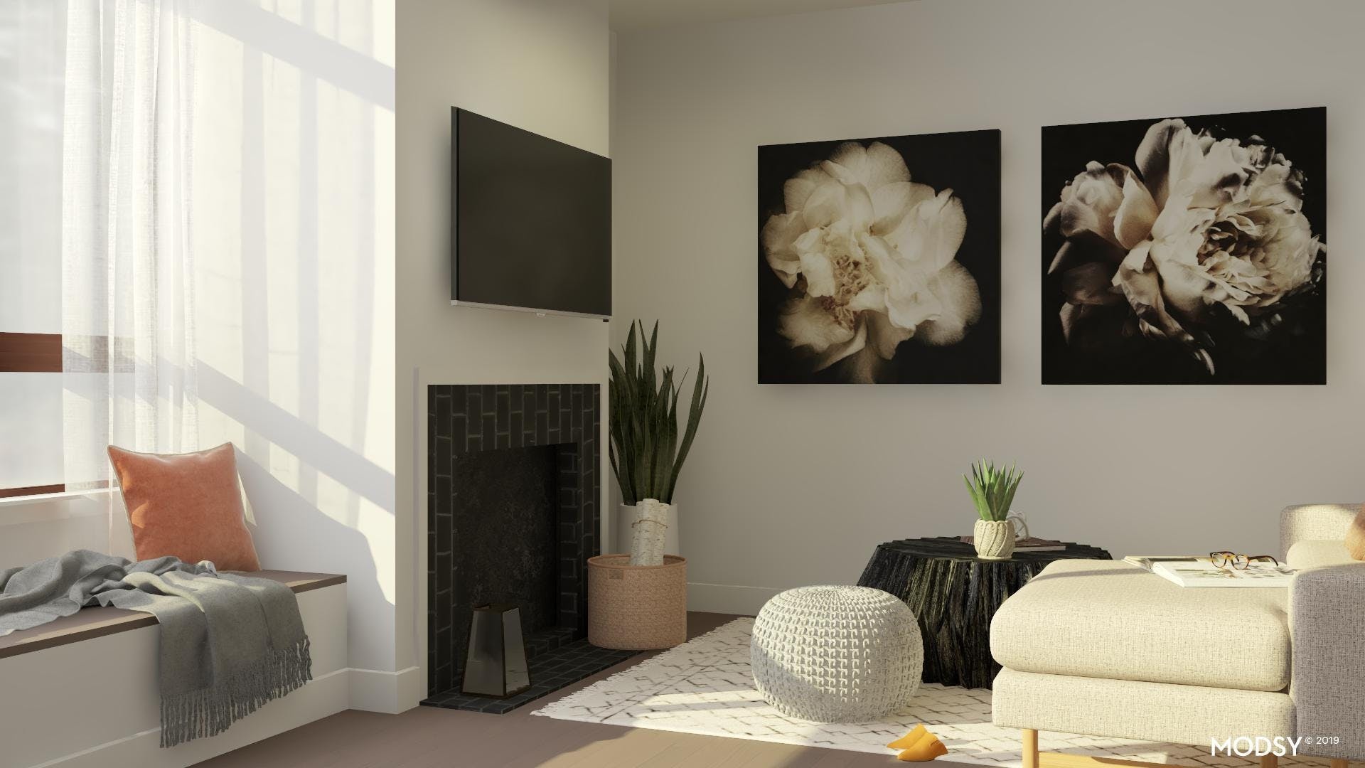 Small & Cozy Living Space