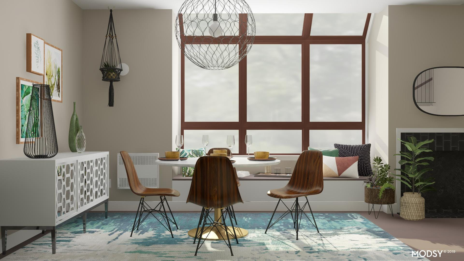 Dining Space Window Seat