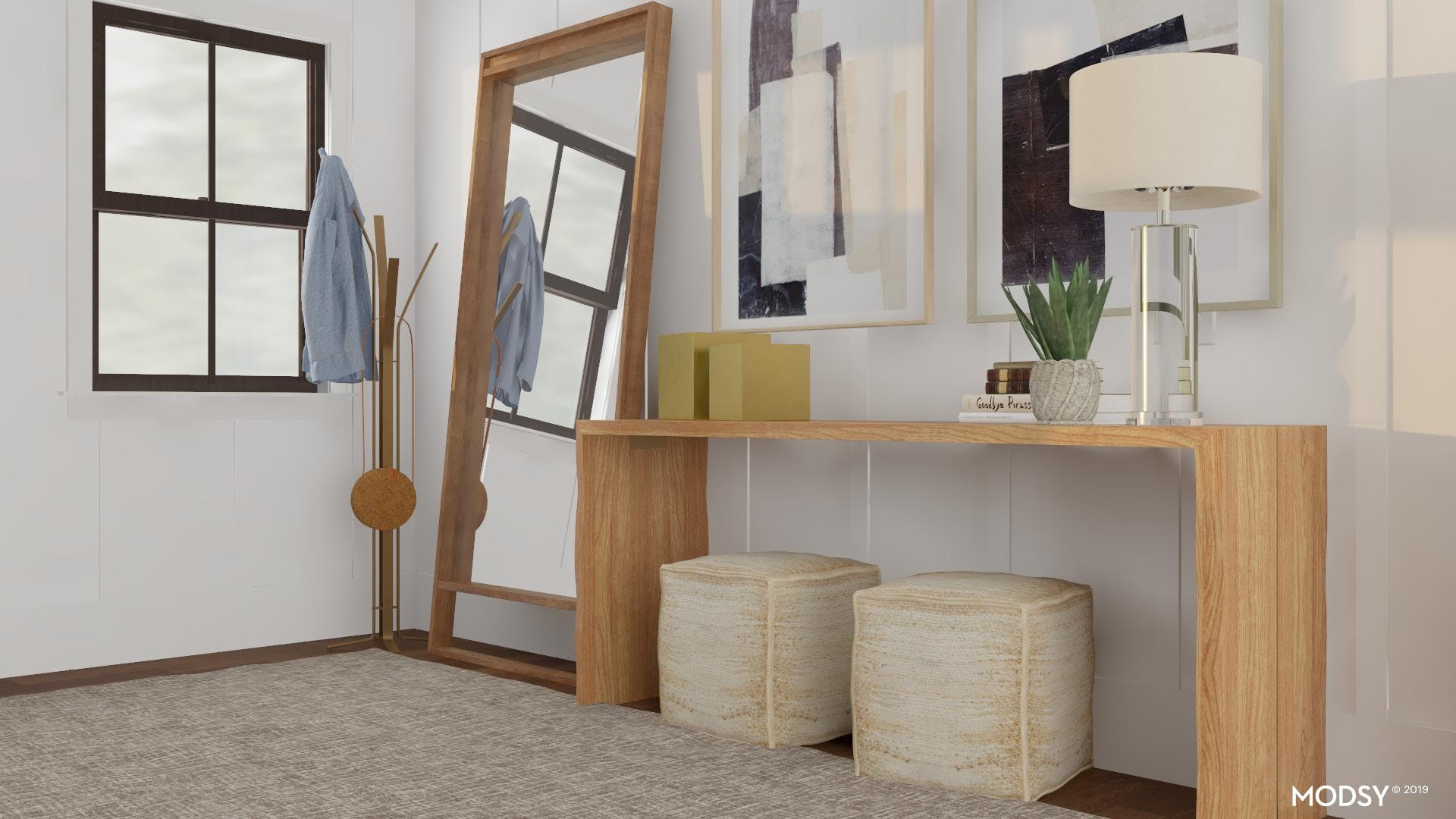 Nicely Neutral: Modern Entry