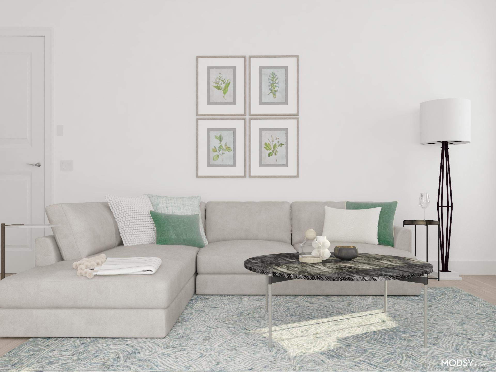 Green With Envy: Contemporary Living