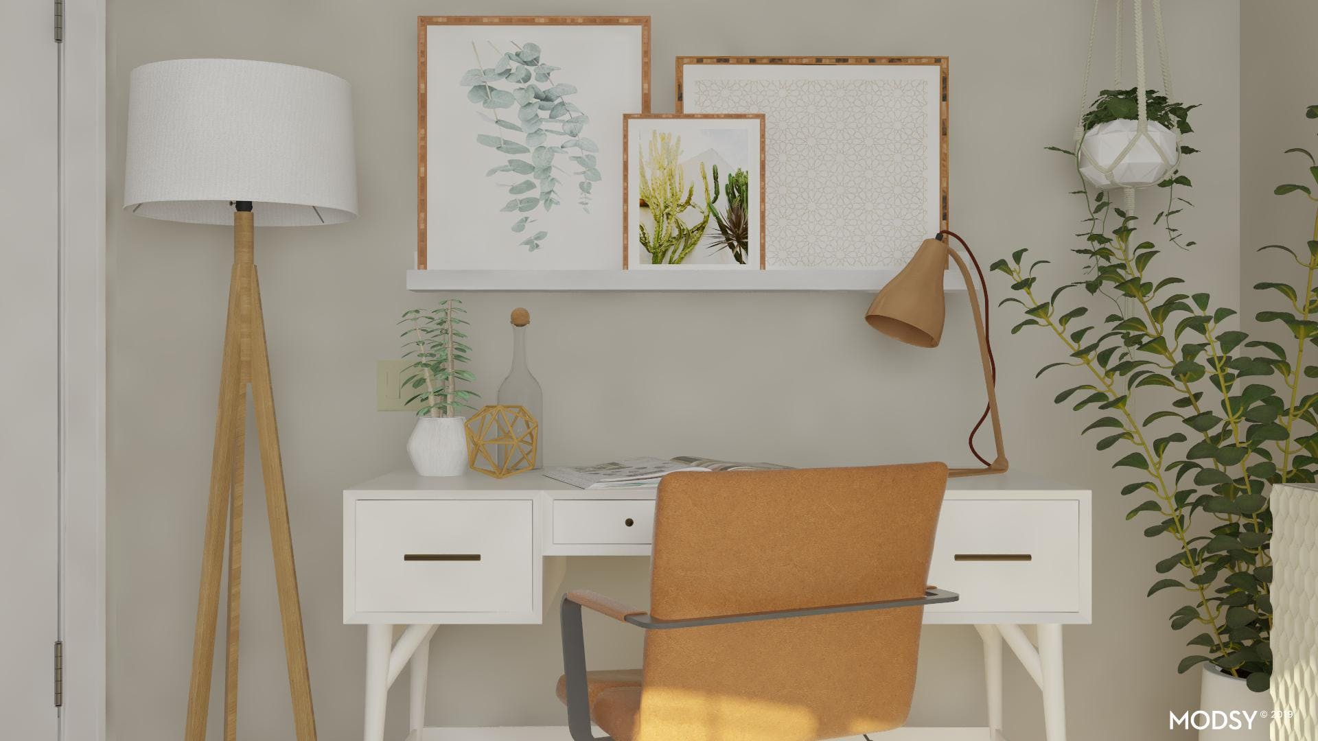 Bringing In Nature To Your Earth Tone Office