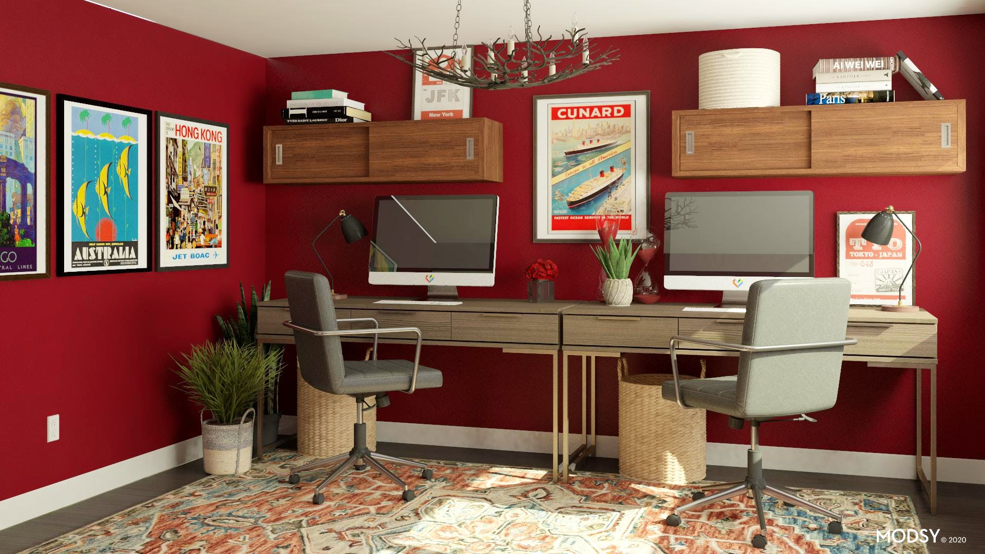 Red Room: Industrial Office