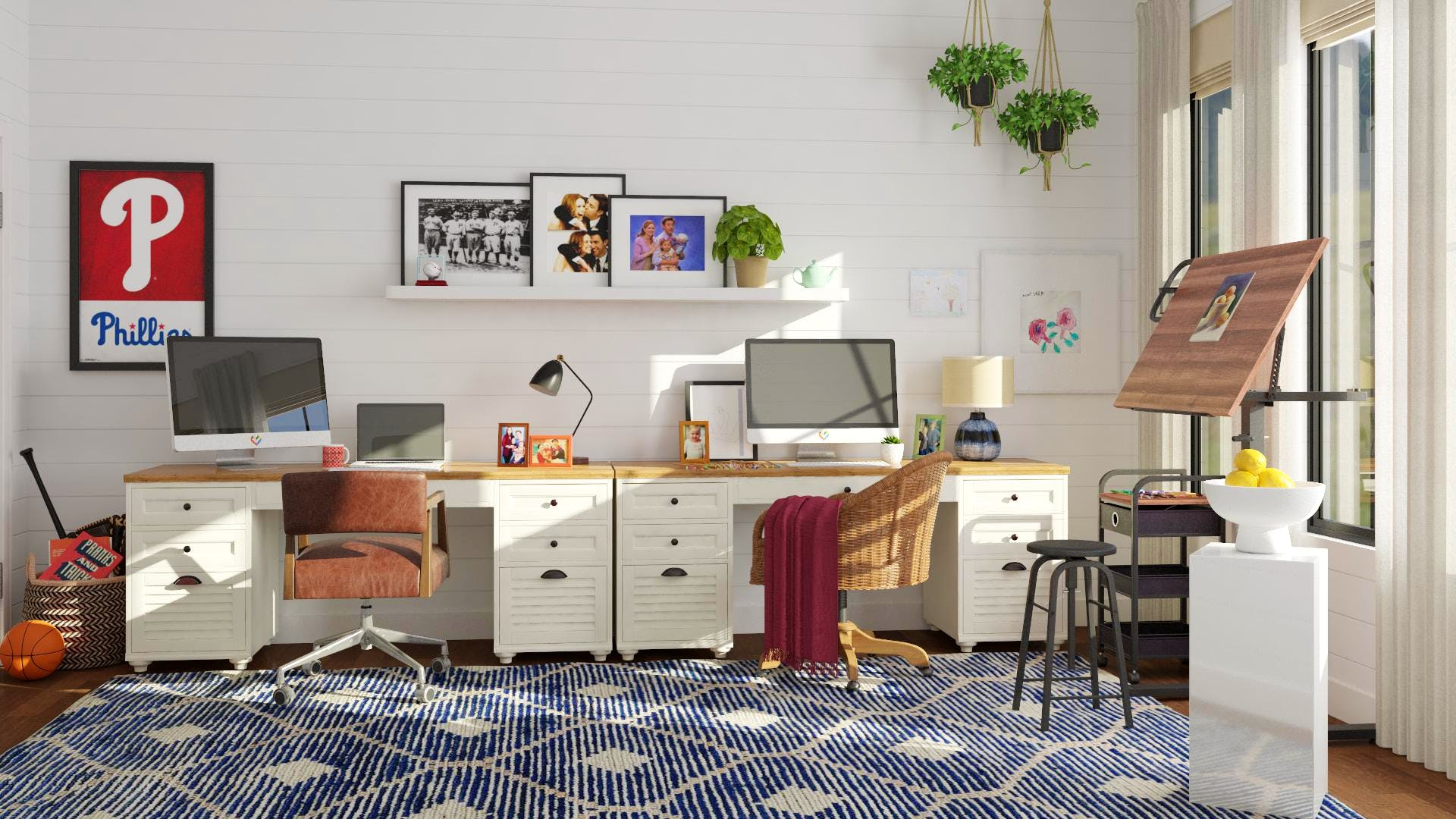 The Office Pam Amp Jim S Home Office Rustic Style Home