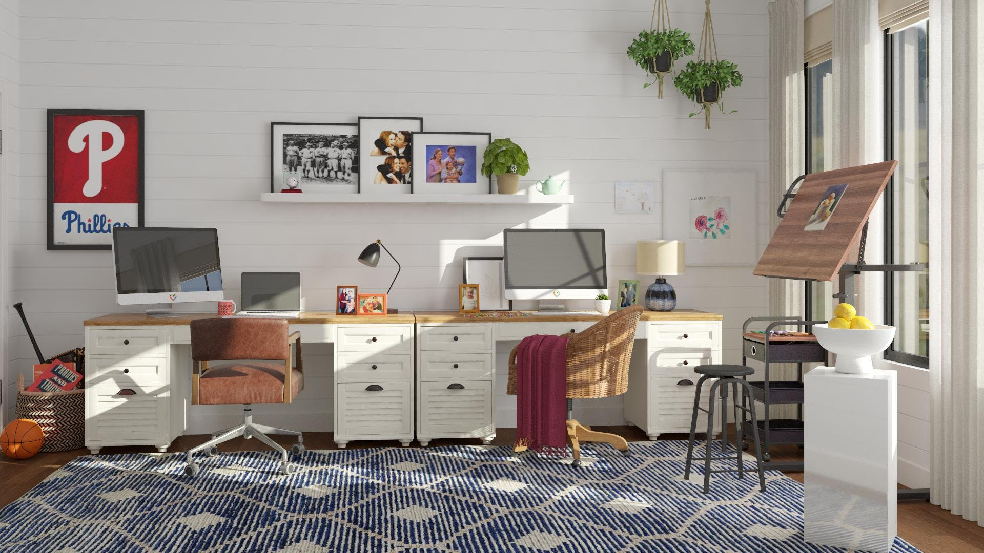 The Office: Pam & Jim's Home Office
