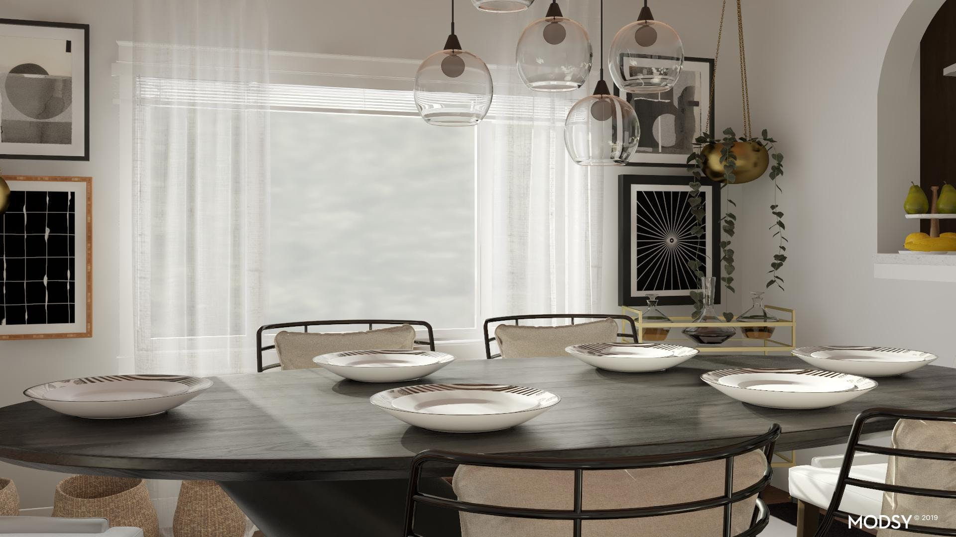 Dangerous Curves: Dining Room