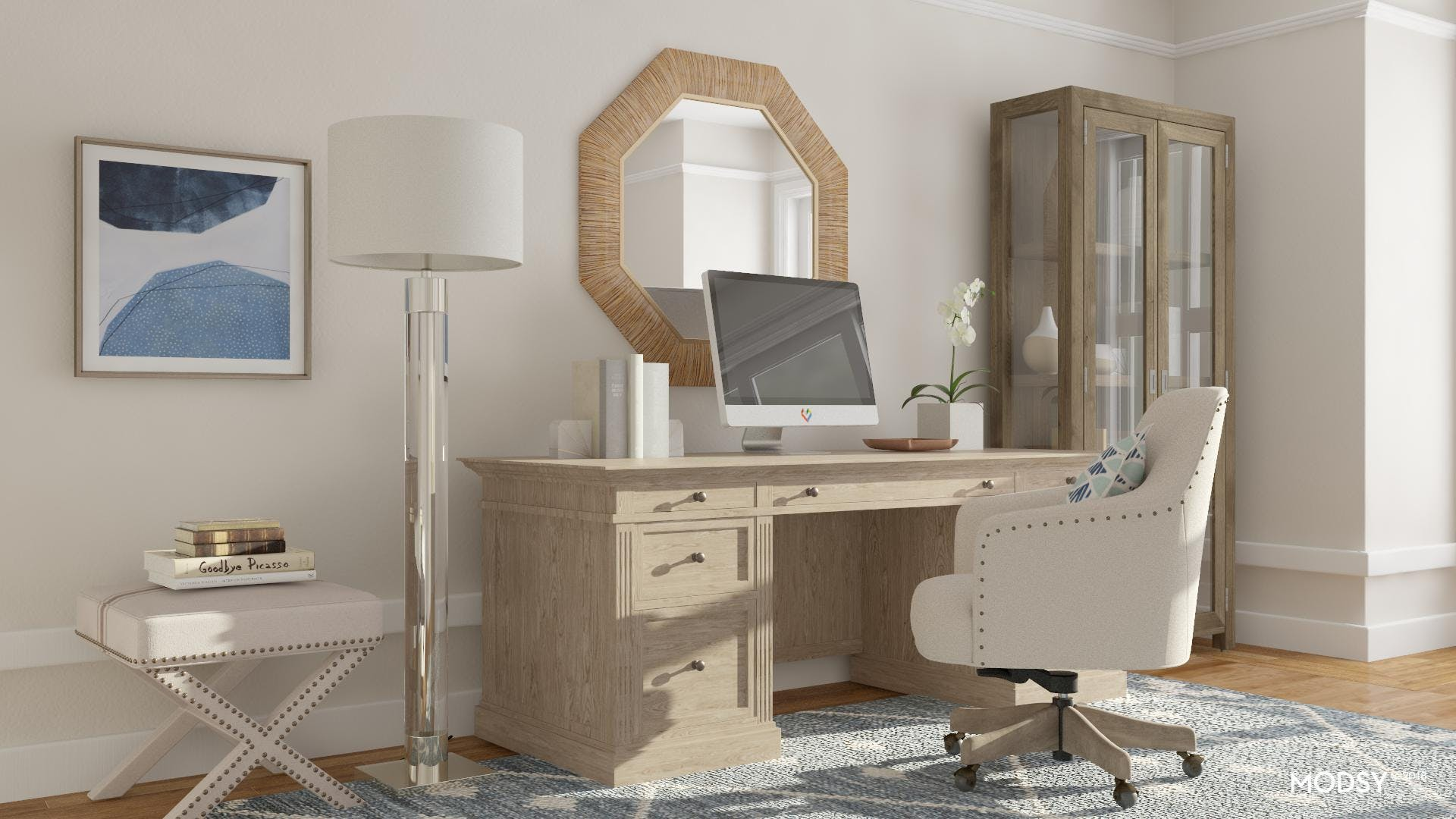 The Contemporary Connoisseur's Office
