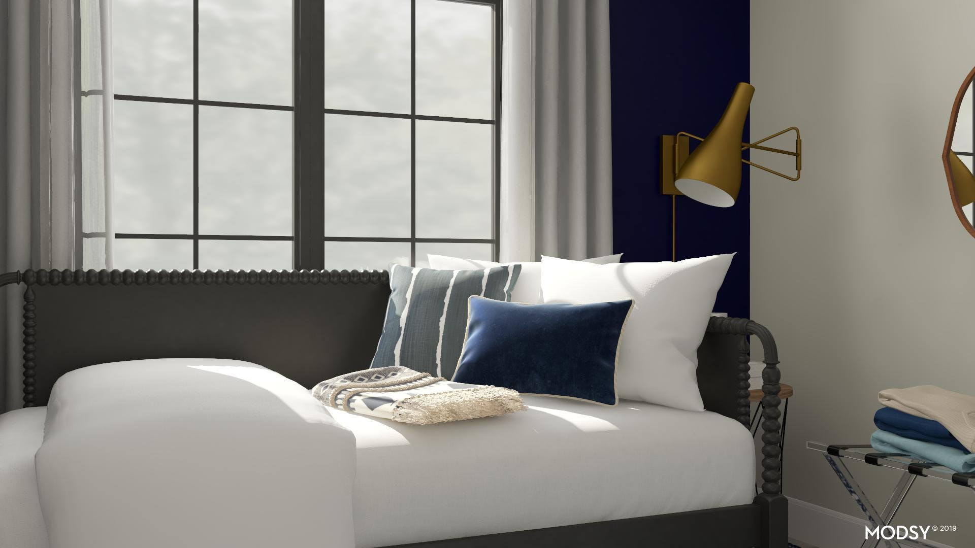Guest Bedroom with Luxury Touch