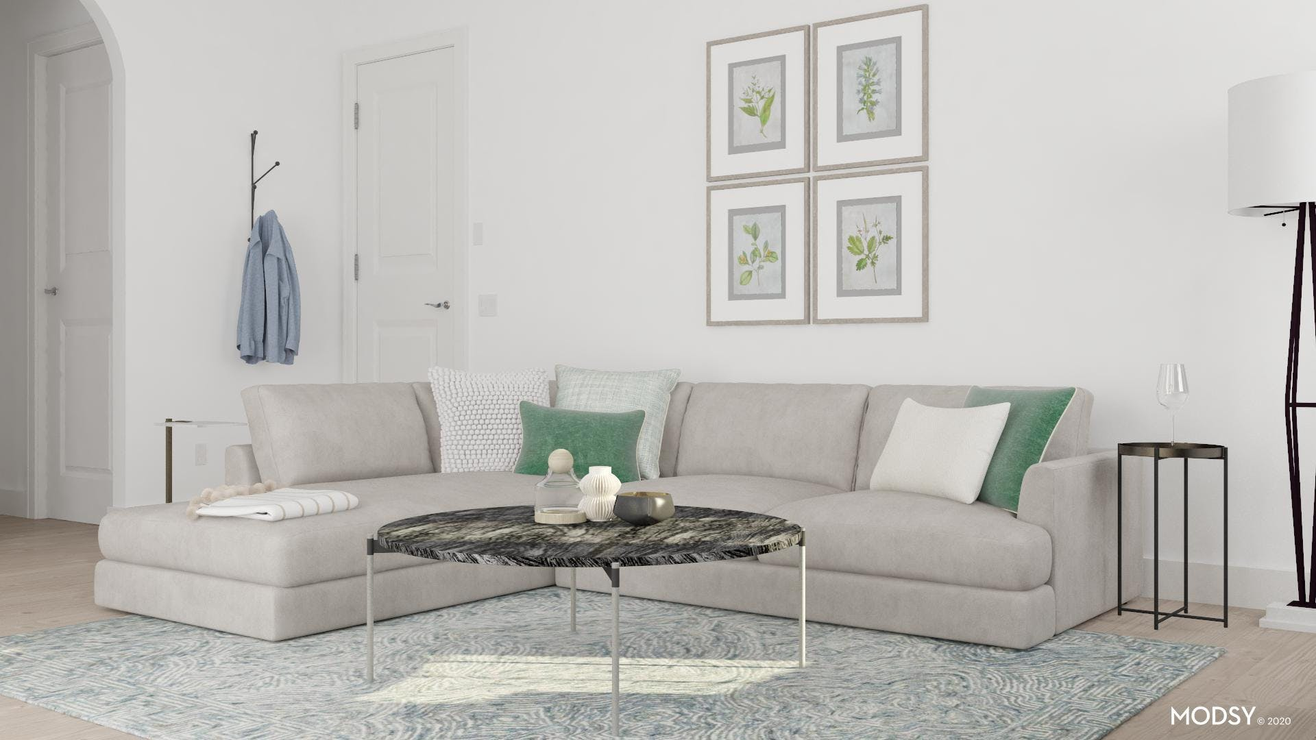 Relax In Comfort Contemporary