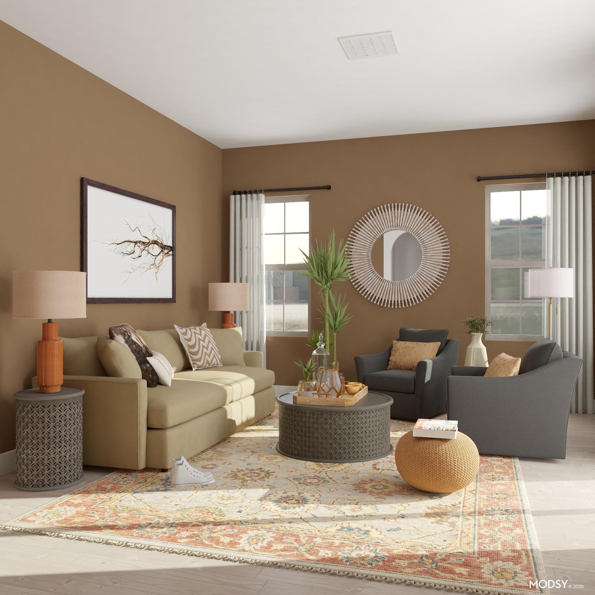 Traditional Small Living Room