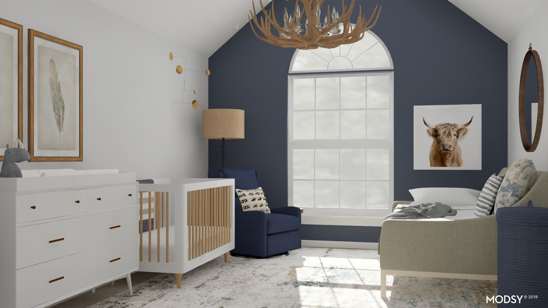 Rustic Blue for Baby and You