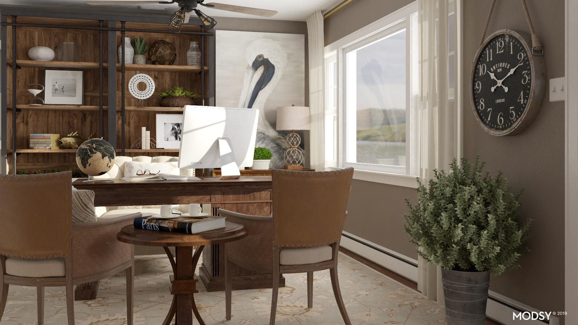 Choosing The Perfect Wood Finish For Your Traditional Office