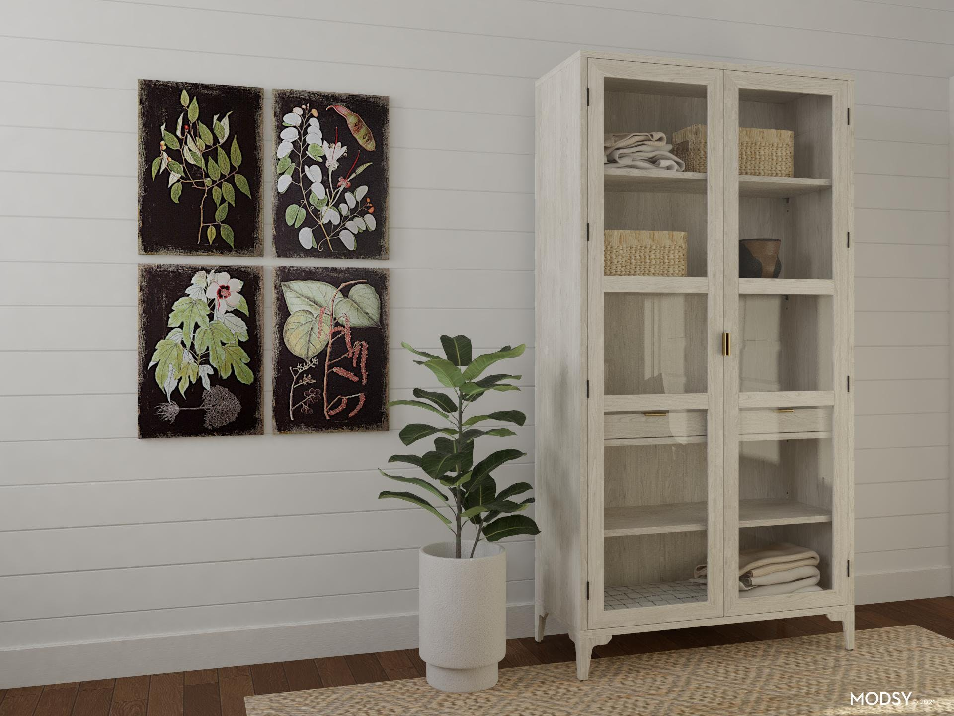 An Unexpected Bedroom Storage Option