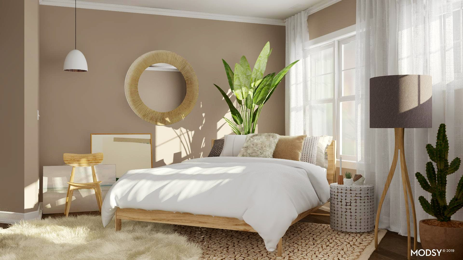 Neutral Bedroom Oasis