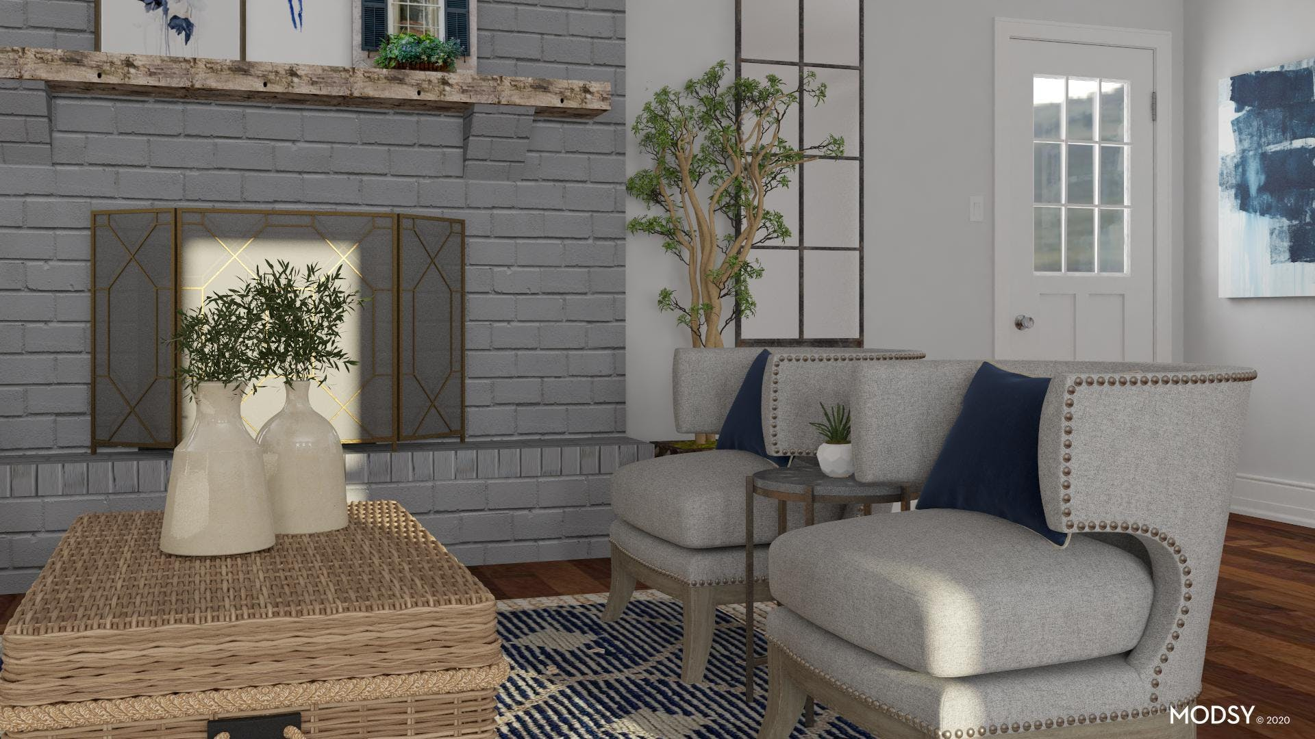 Layering Rugs: Extra Cozy Living Room