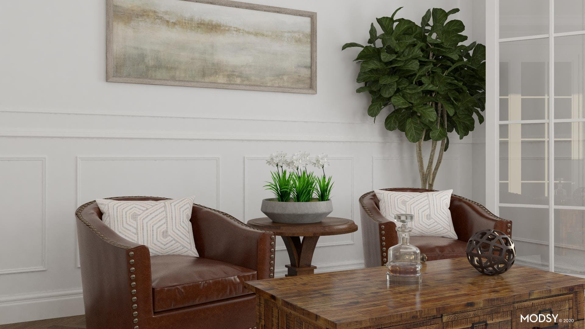 Chic Traditional Living Room Style