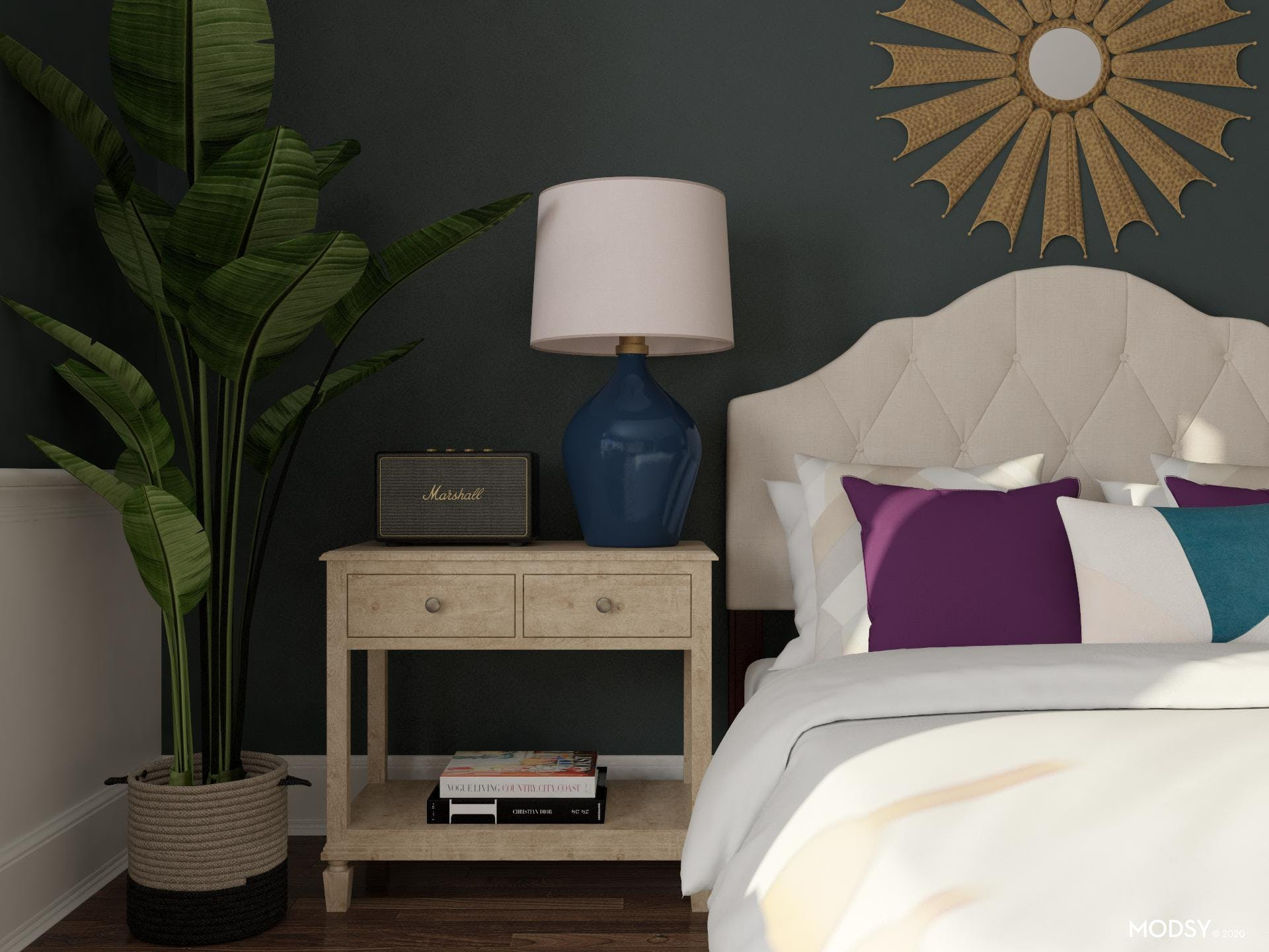 Think Outside the Box: Glam Bedroom