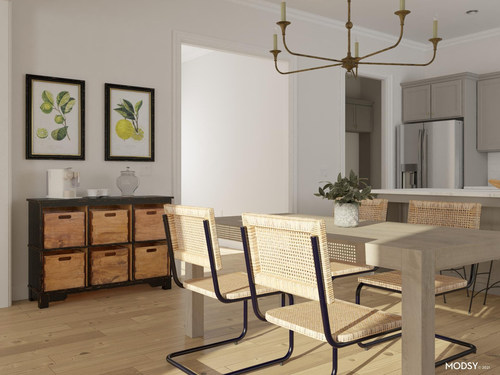 Casual Dining Coffee Nook