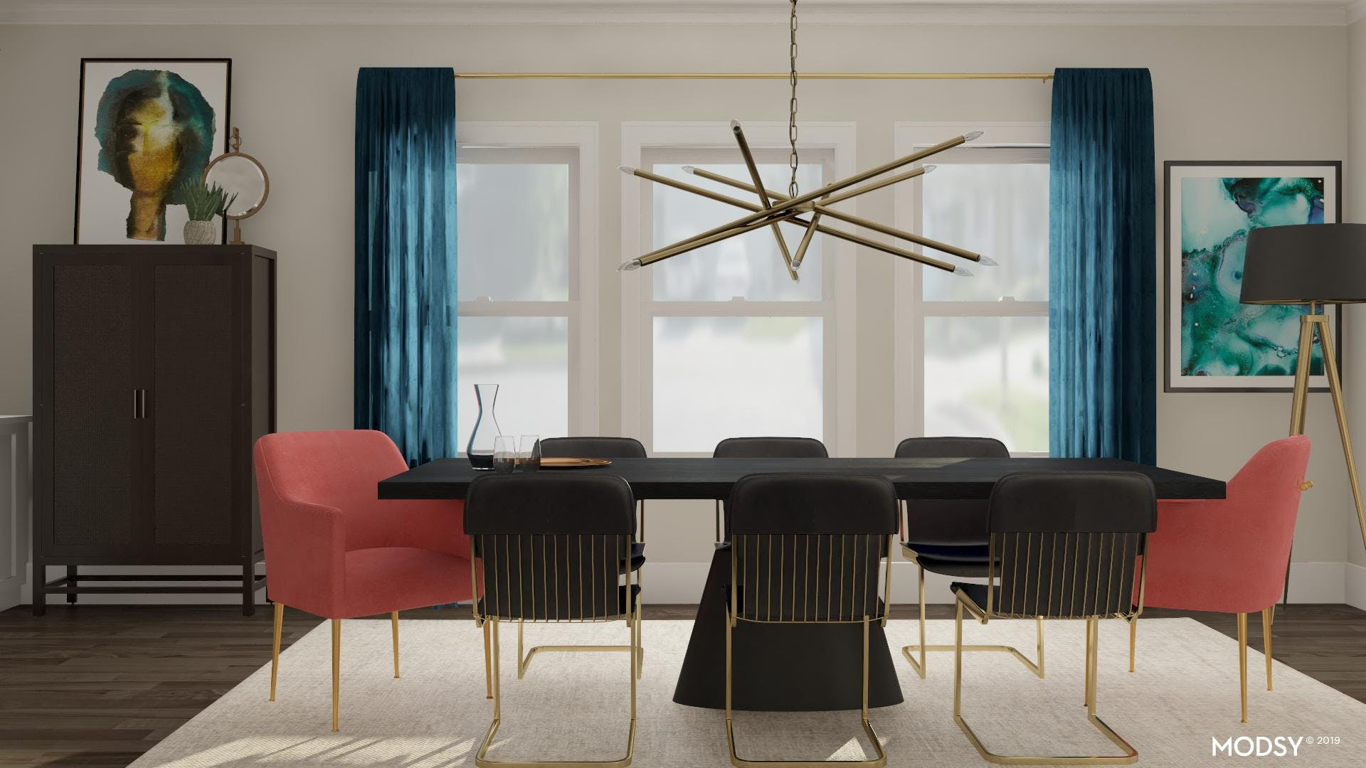 Beauty In The Mix: Dining Room