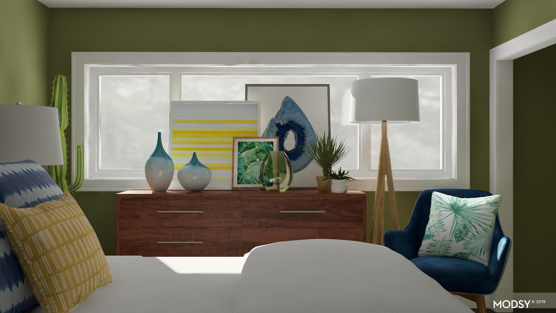 Layering Artwork For An Easy Focal Point