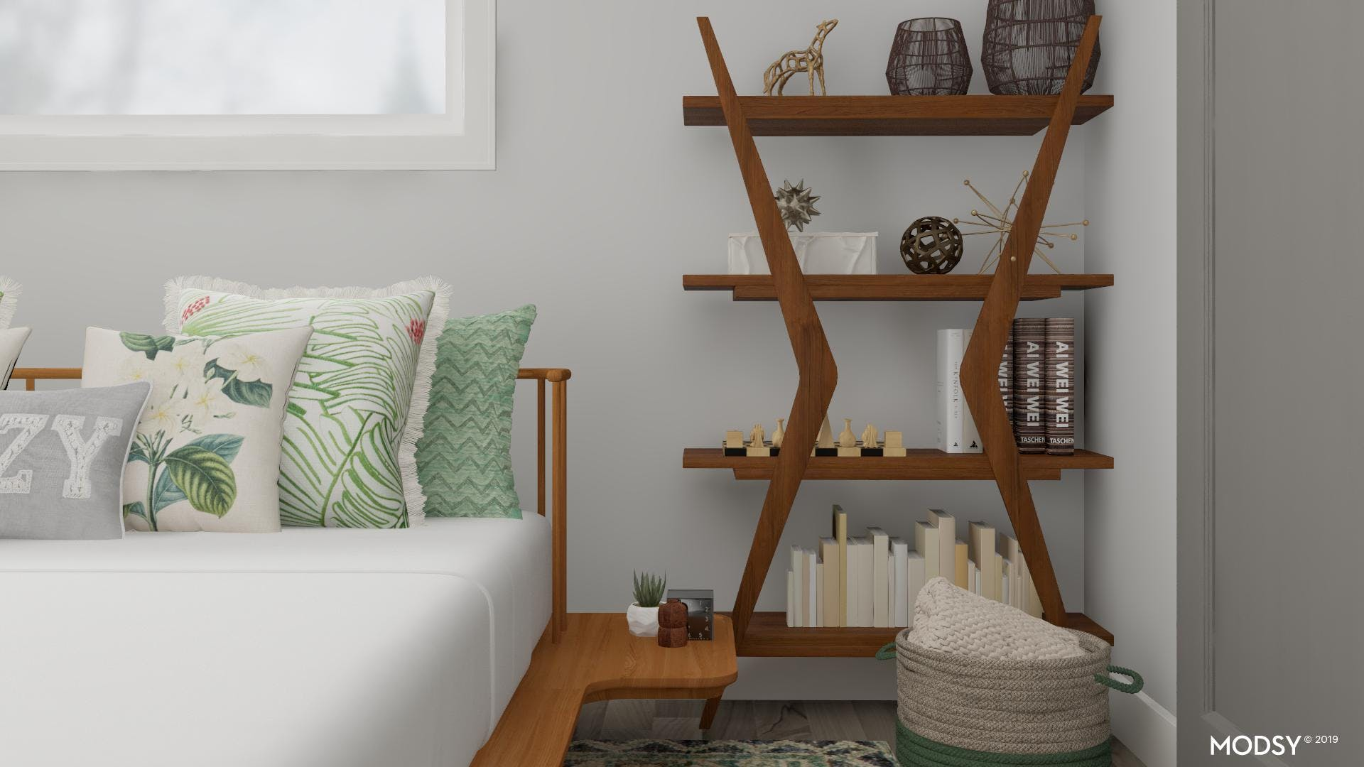 Eclectic Connections: Bedroom
