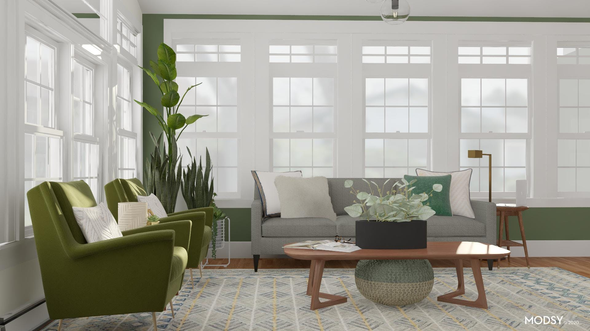 Green with Envy for Mid-Century
