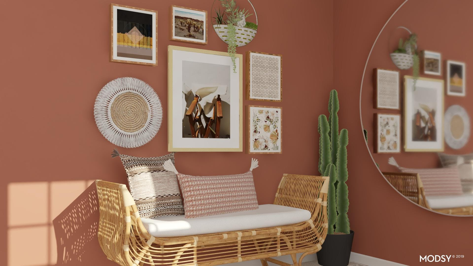 Earthy Eclectic Entry