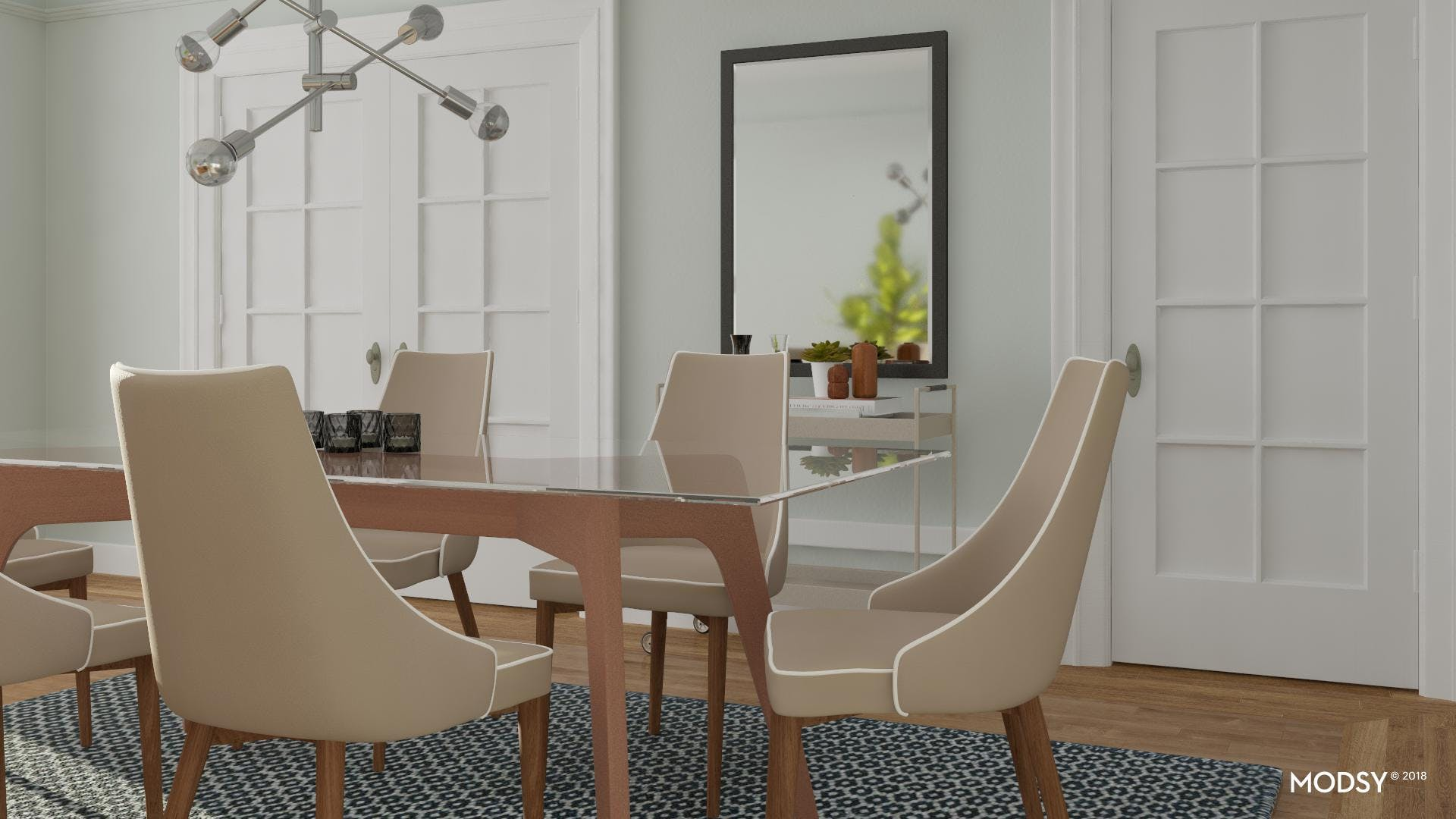 Elevate Your Modern Dining Room Scene