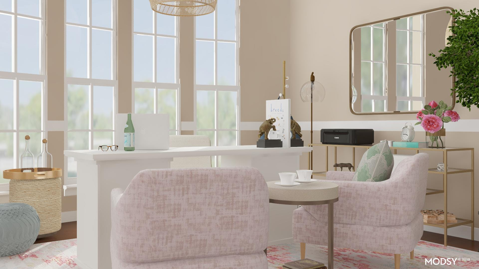 Office Style In Pretty Pastels