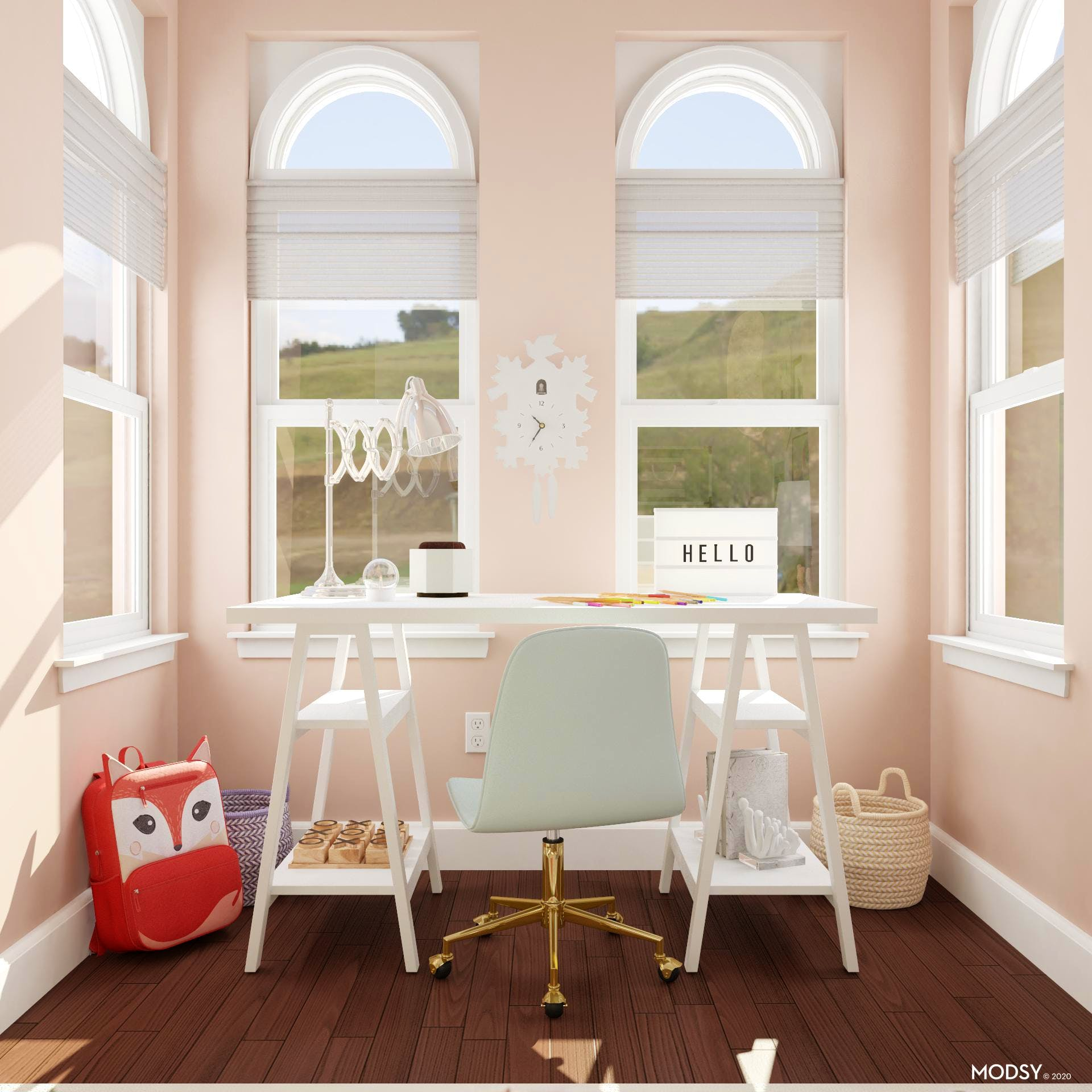 Creative Space To Bring A Little Girl's Dreams Alive