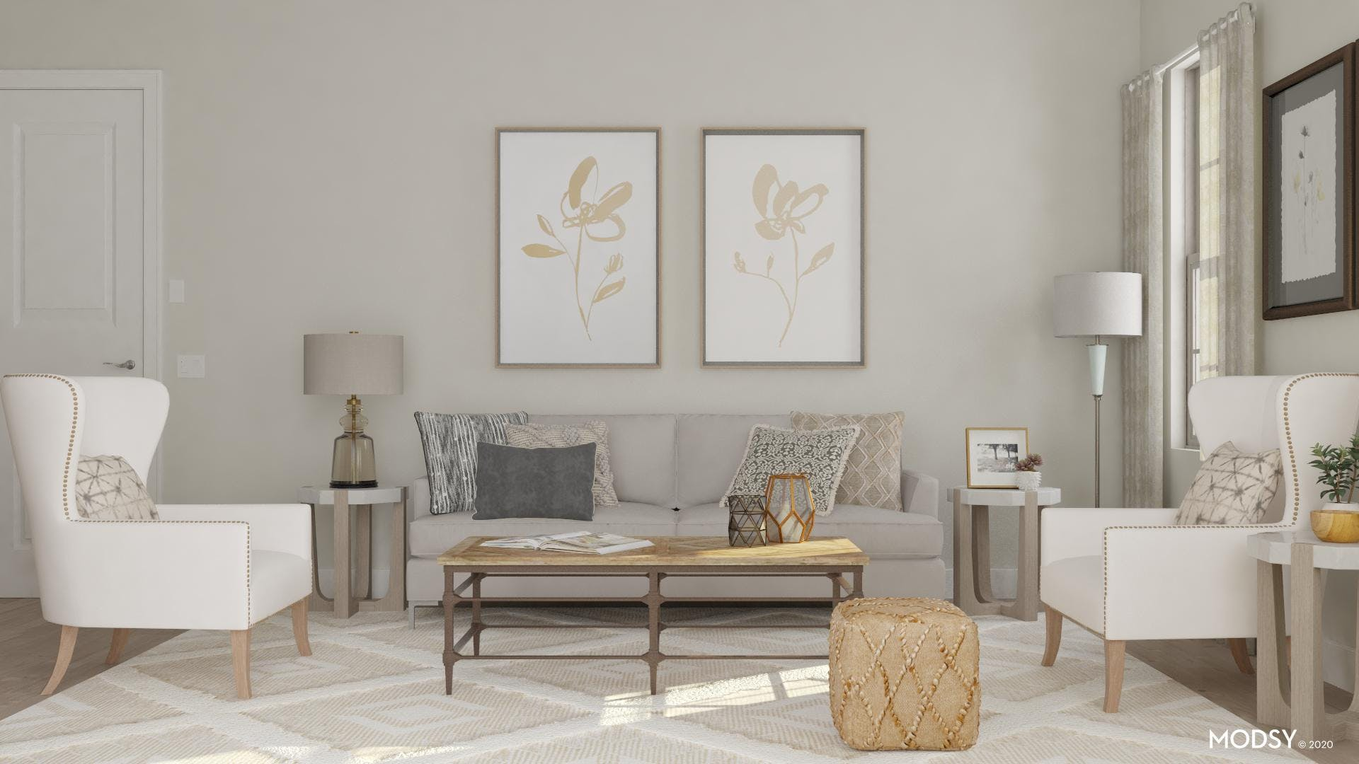 Neutral Can Be Swanky!