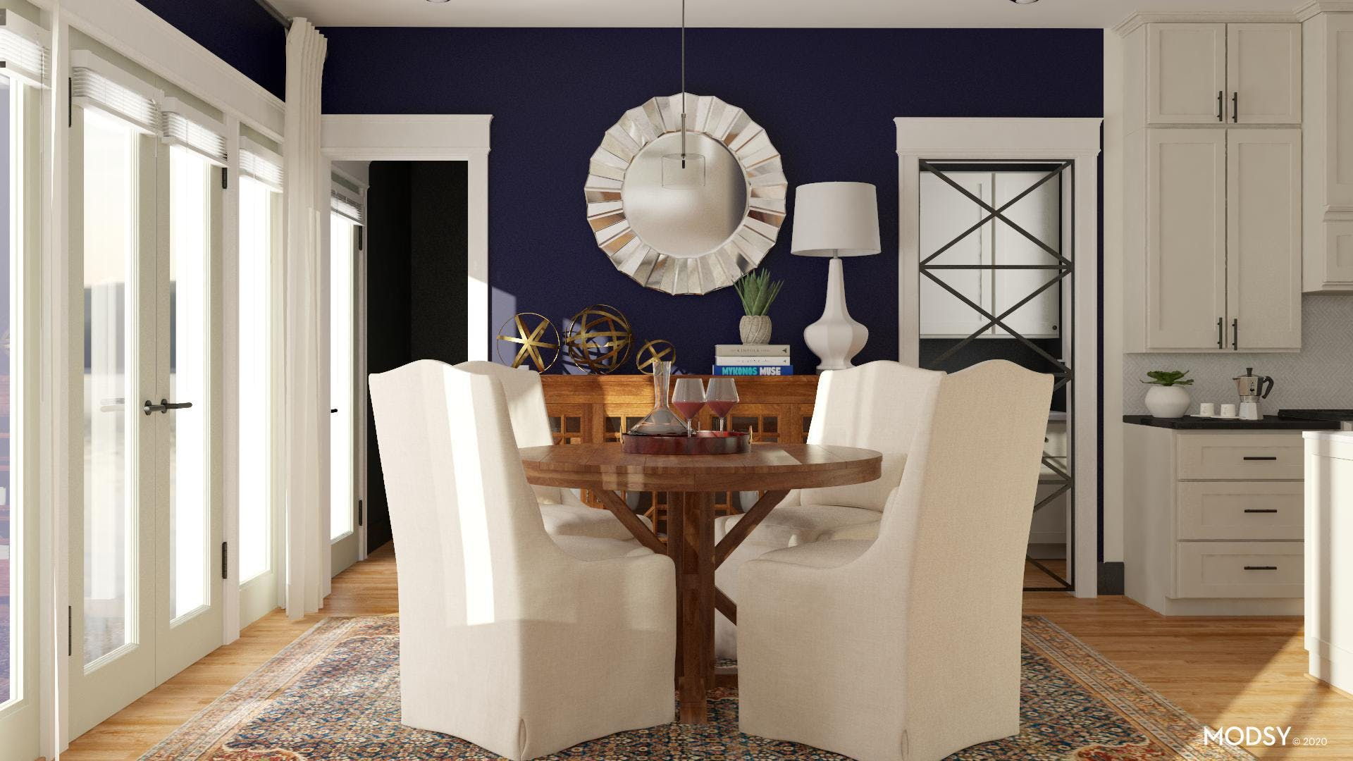 Formal Dining in a Nook