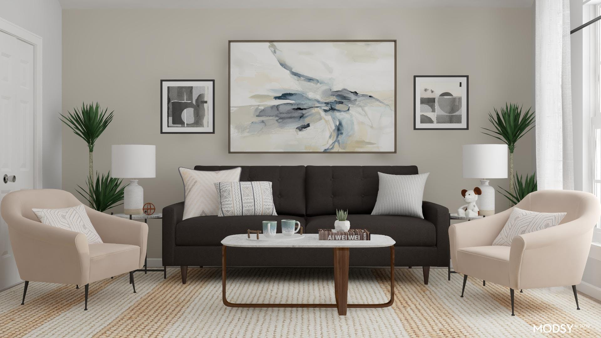 Modern, Neutral and Intriguing