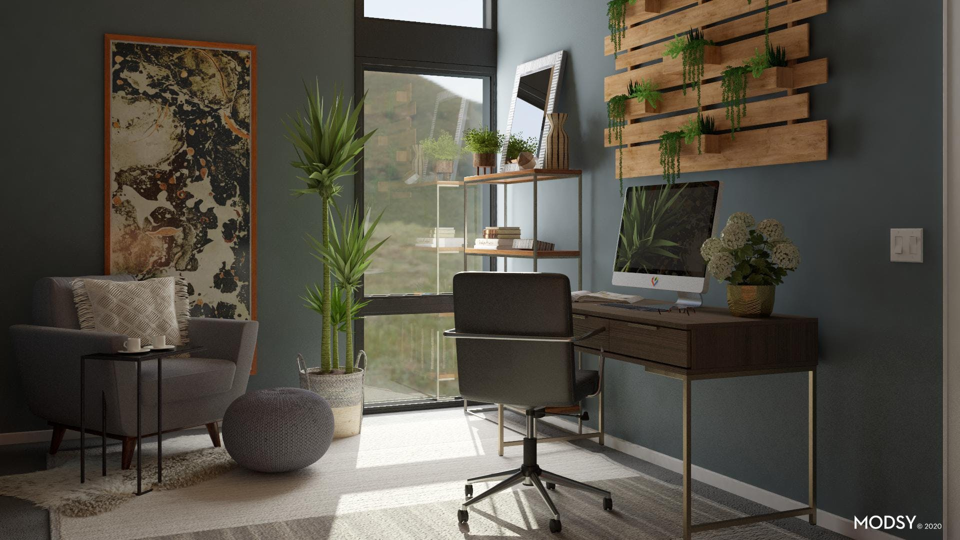 Industrial Office Jungle