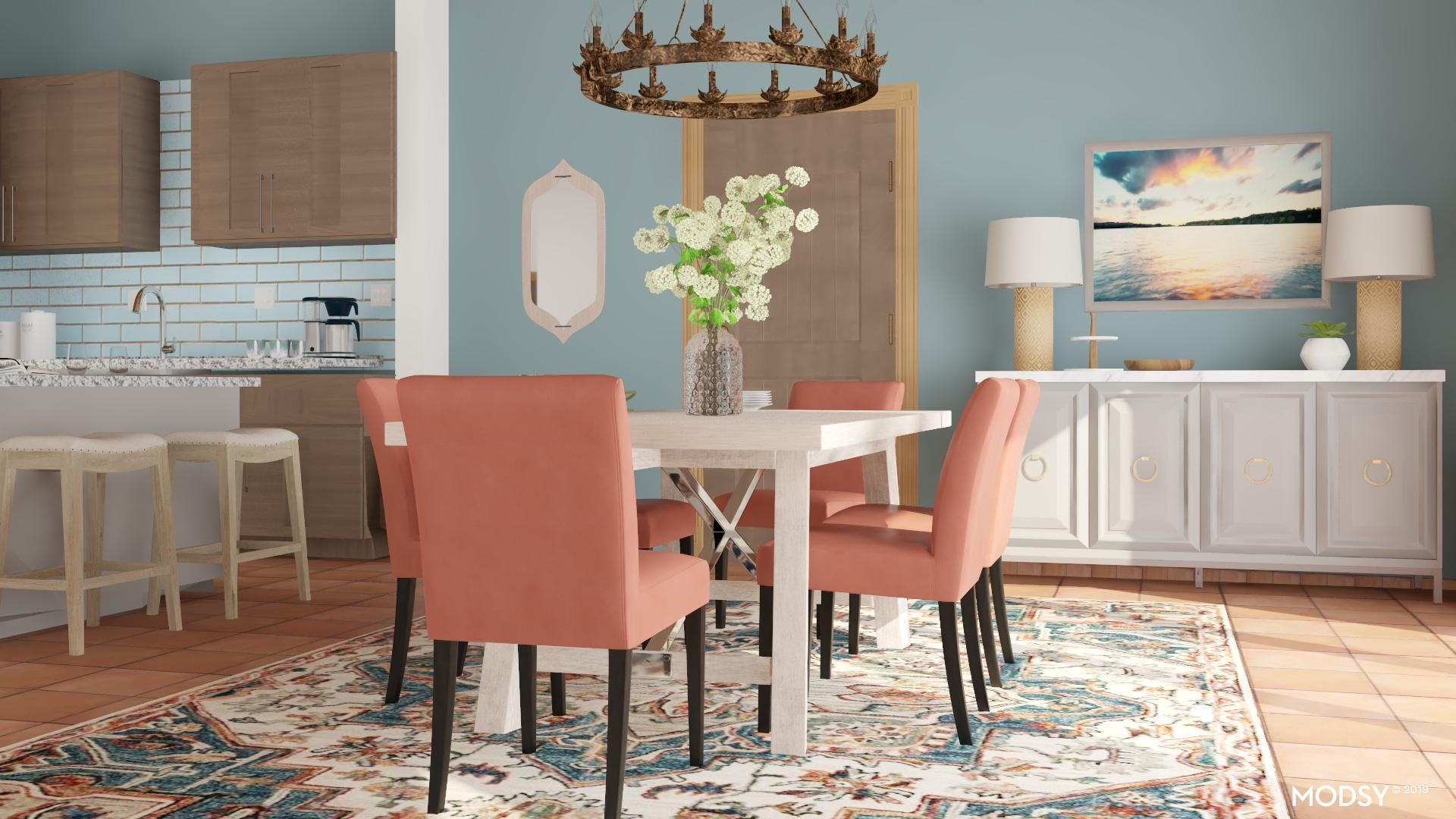 Fearless Color: Dining Room