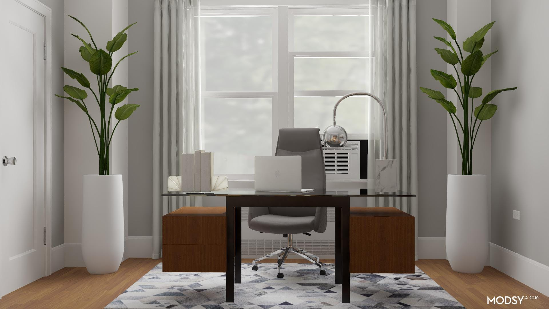 Clean And Clutter-Free Office