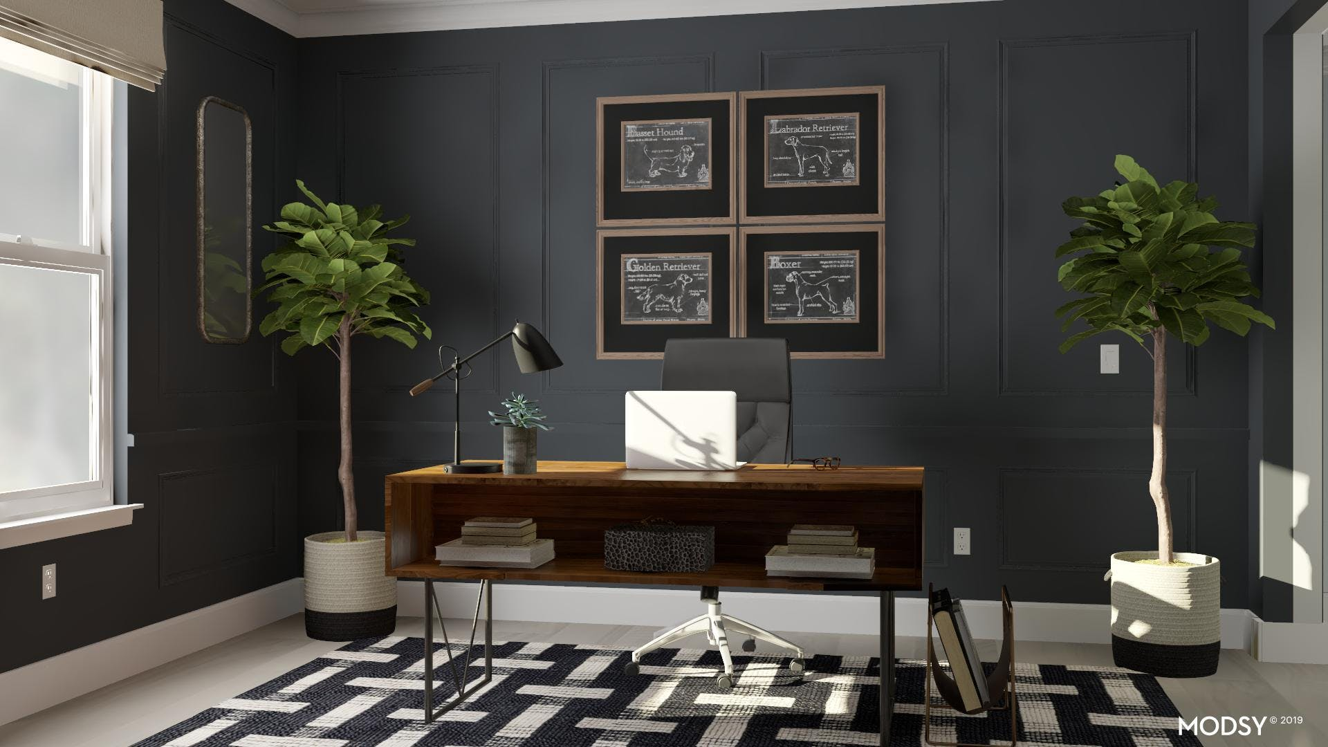 Bold And Charming Office