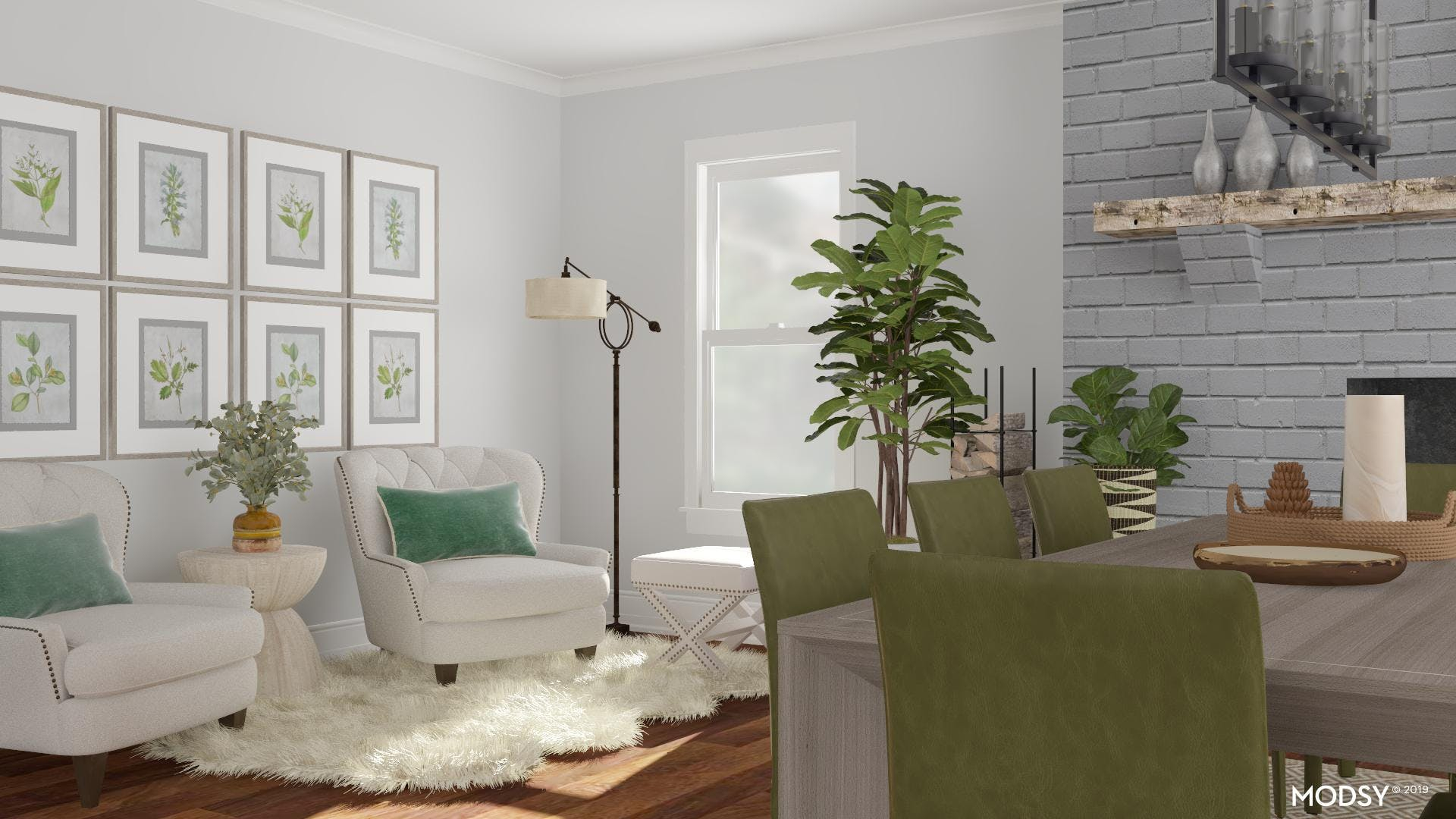 Cozy Seating: Dining Room