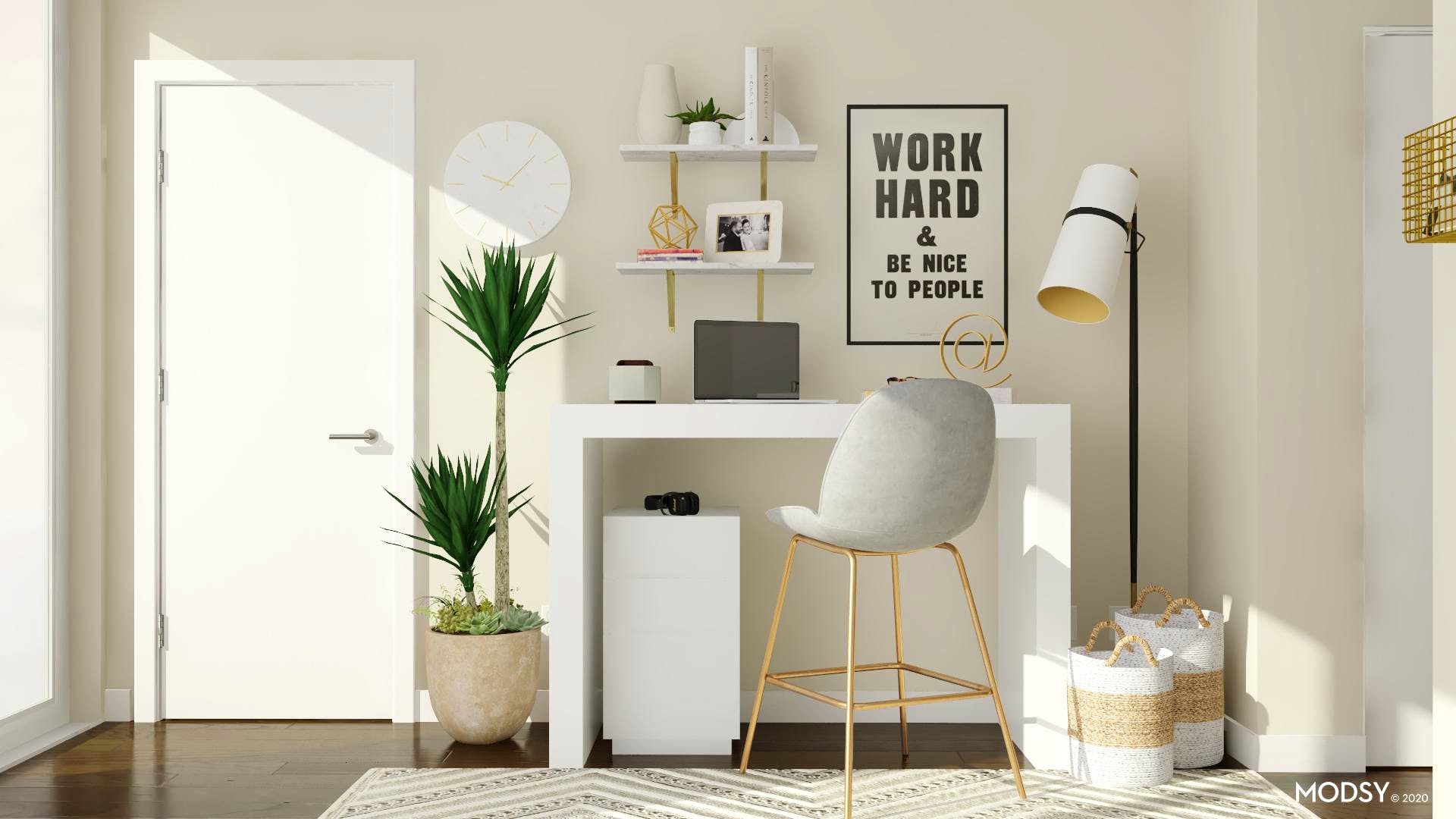 Making the Most of a Small Apartment Office