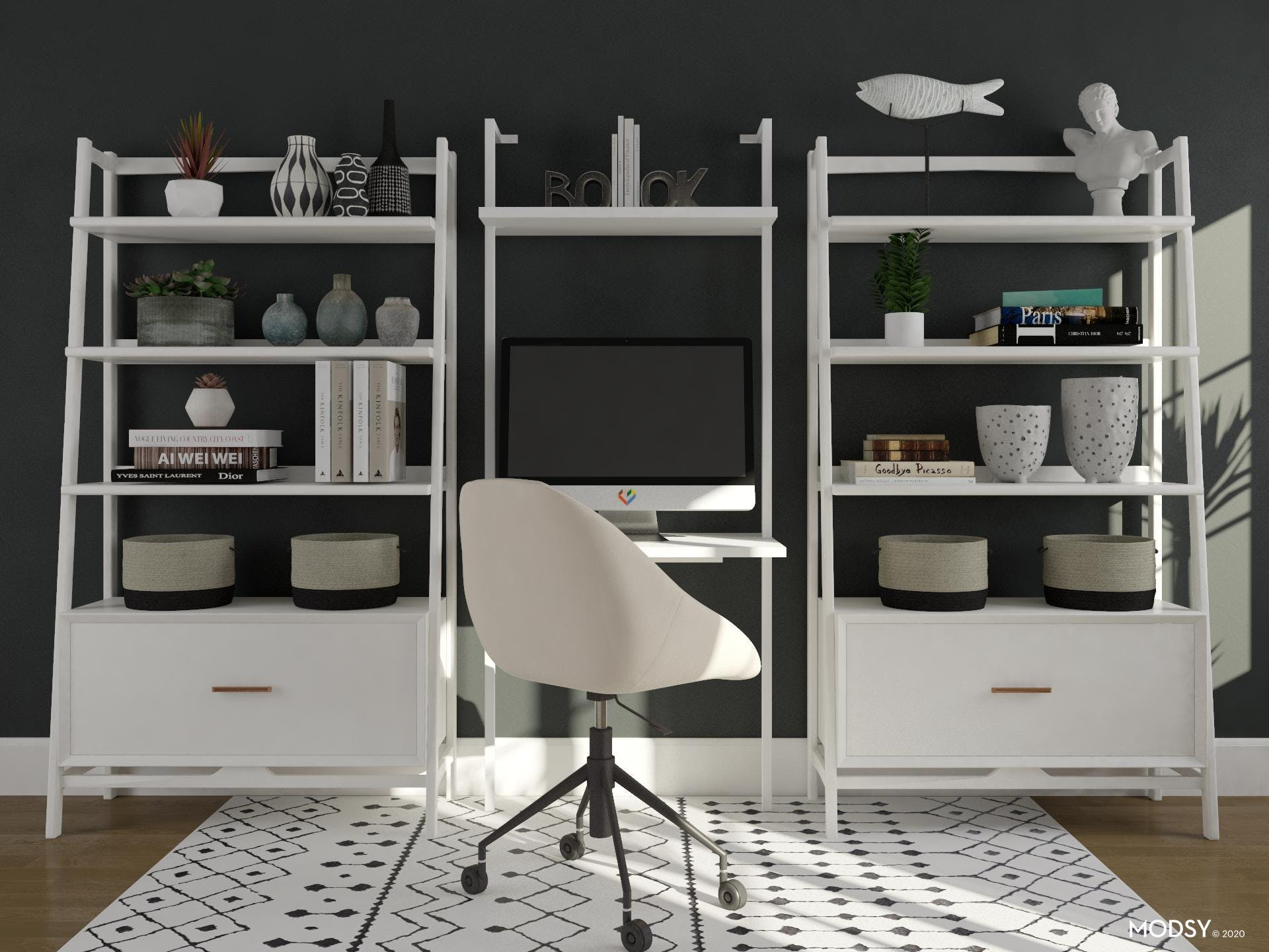 Smart Storage: MCM Home Office
