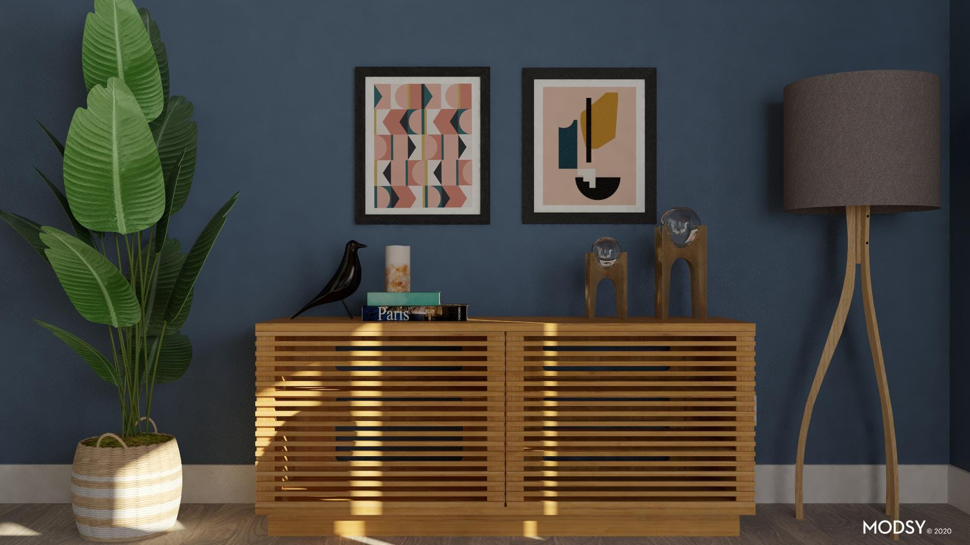 Textures and Colors For Mid-Century