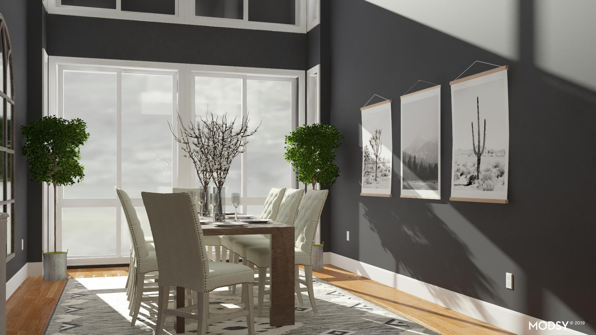 Sophisticated Dining: Contemporary