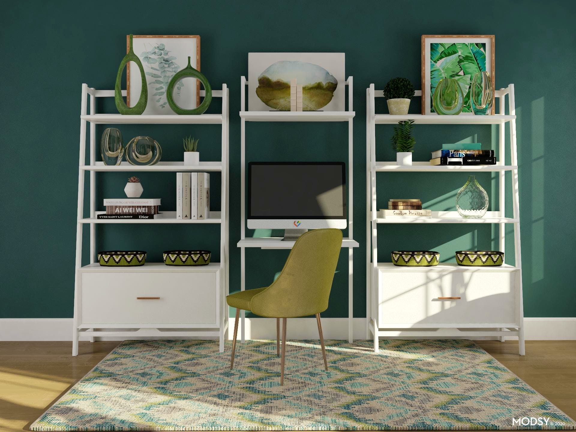 Shelving Decor in Your Home Office