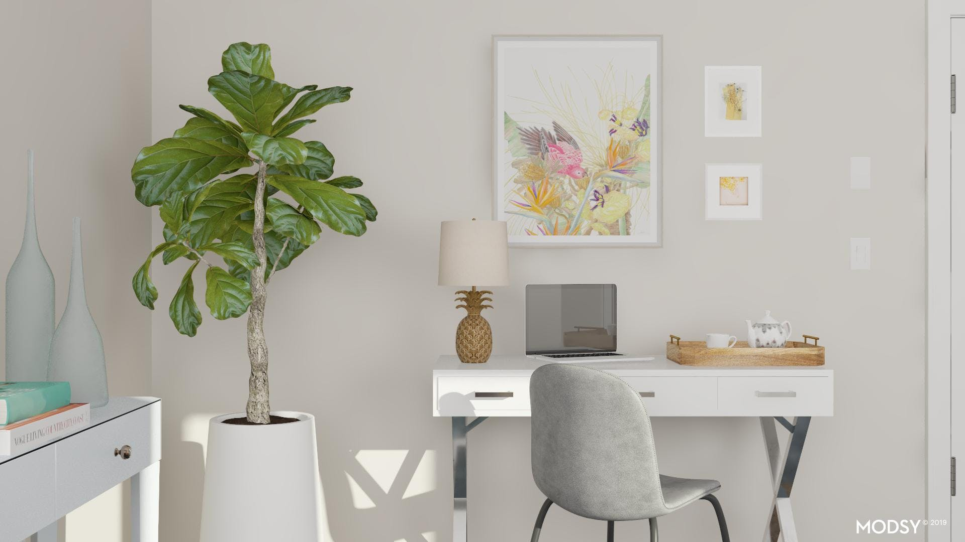 Small Space: No Problem Office