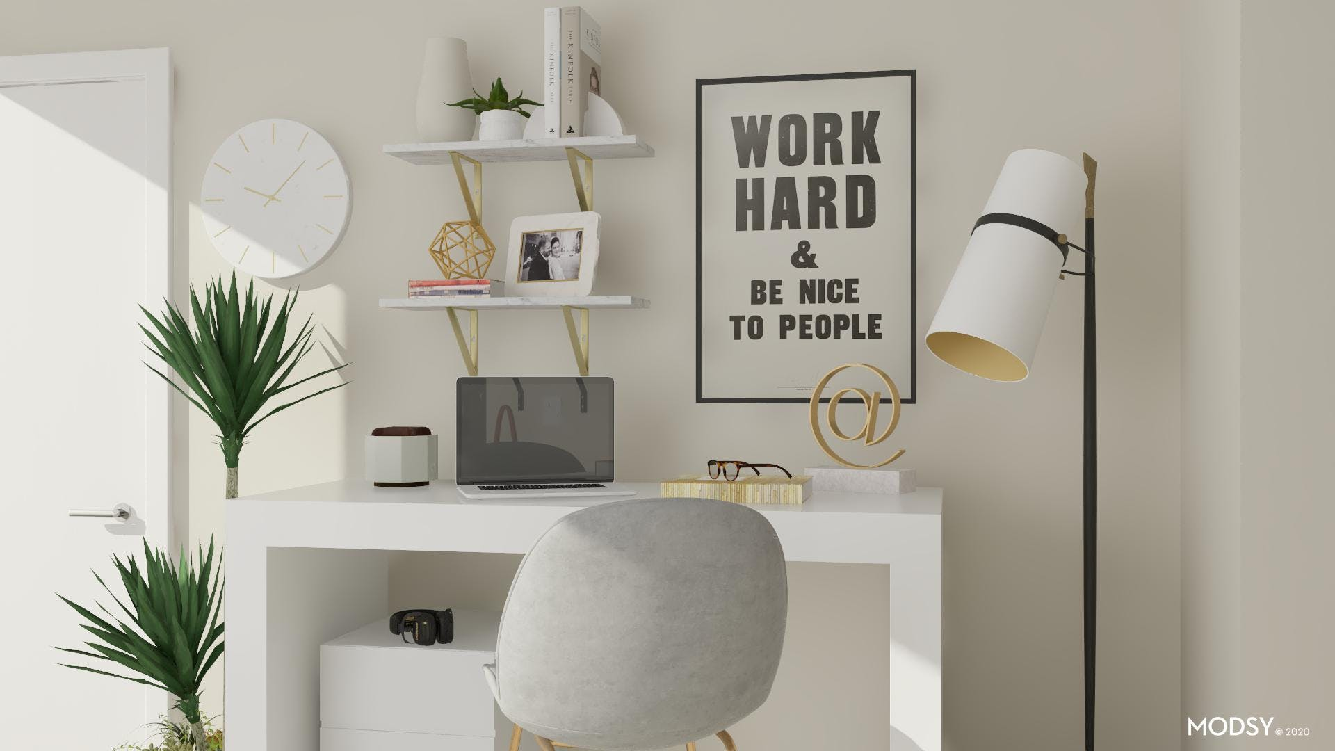 Spruce Up Your Small Home Office
